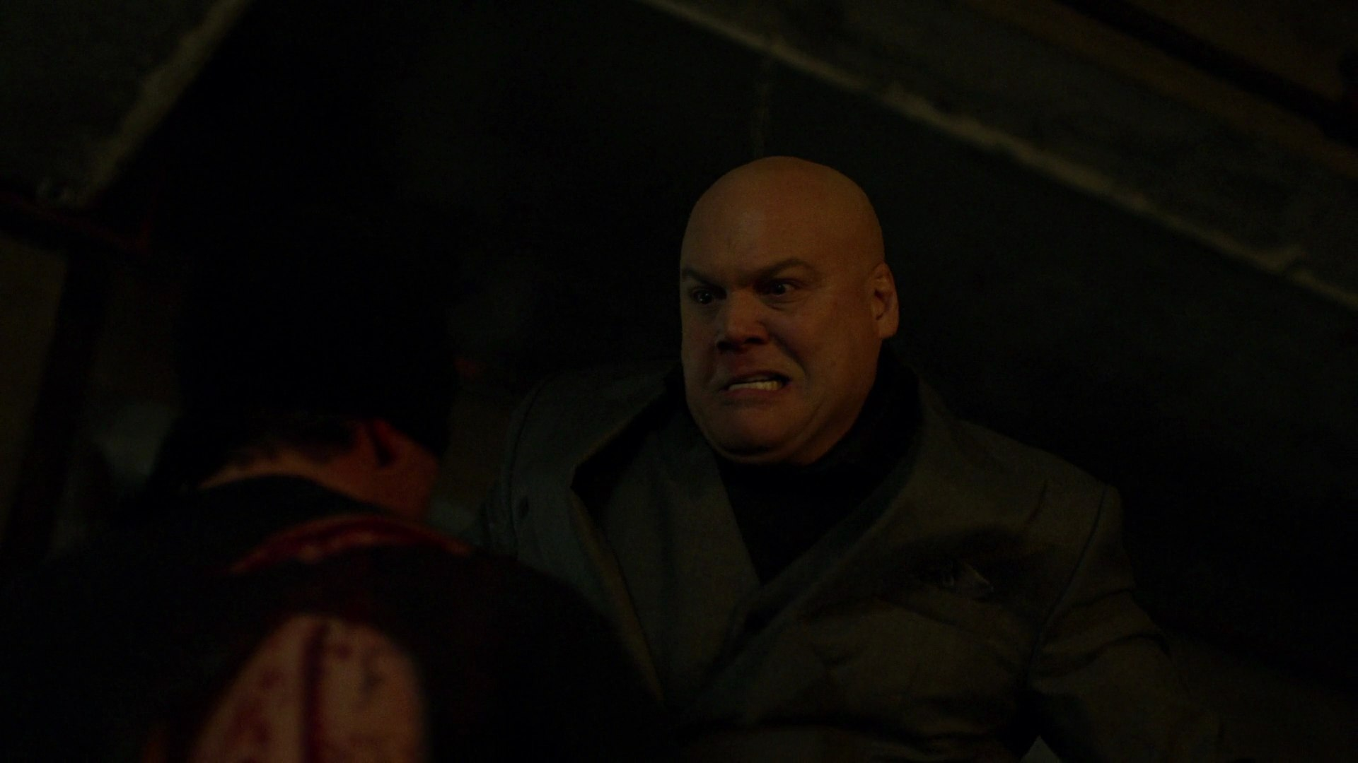 File:Fisk gives wounded Masked Man a beating.JPG