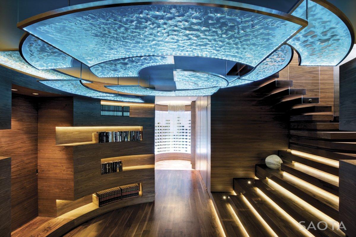 Image Amazing Cool Circular Entrance Area Interior In