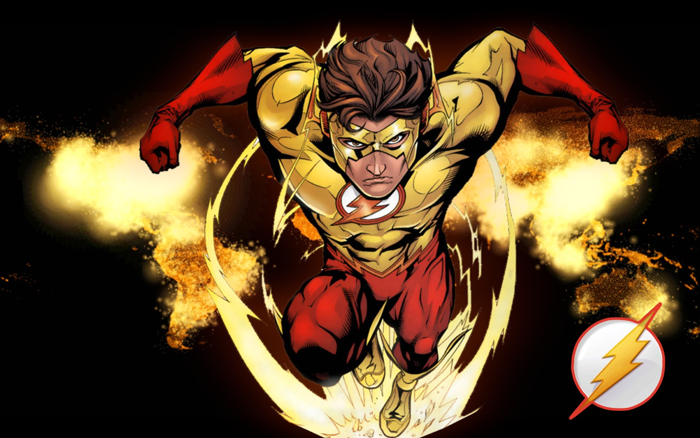 <b>Kid Flash Wallpapers</b> - CNSouP Collections