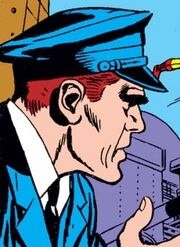 Bill (Security Guard) (Earth-616) from Tales of Suspense Vol 1 63 001