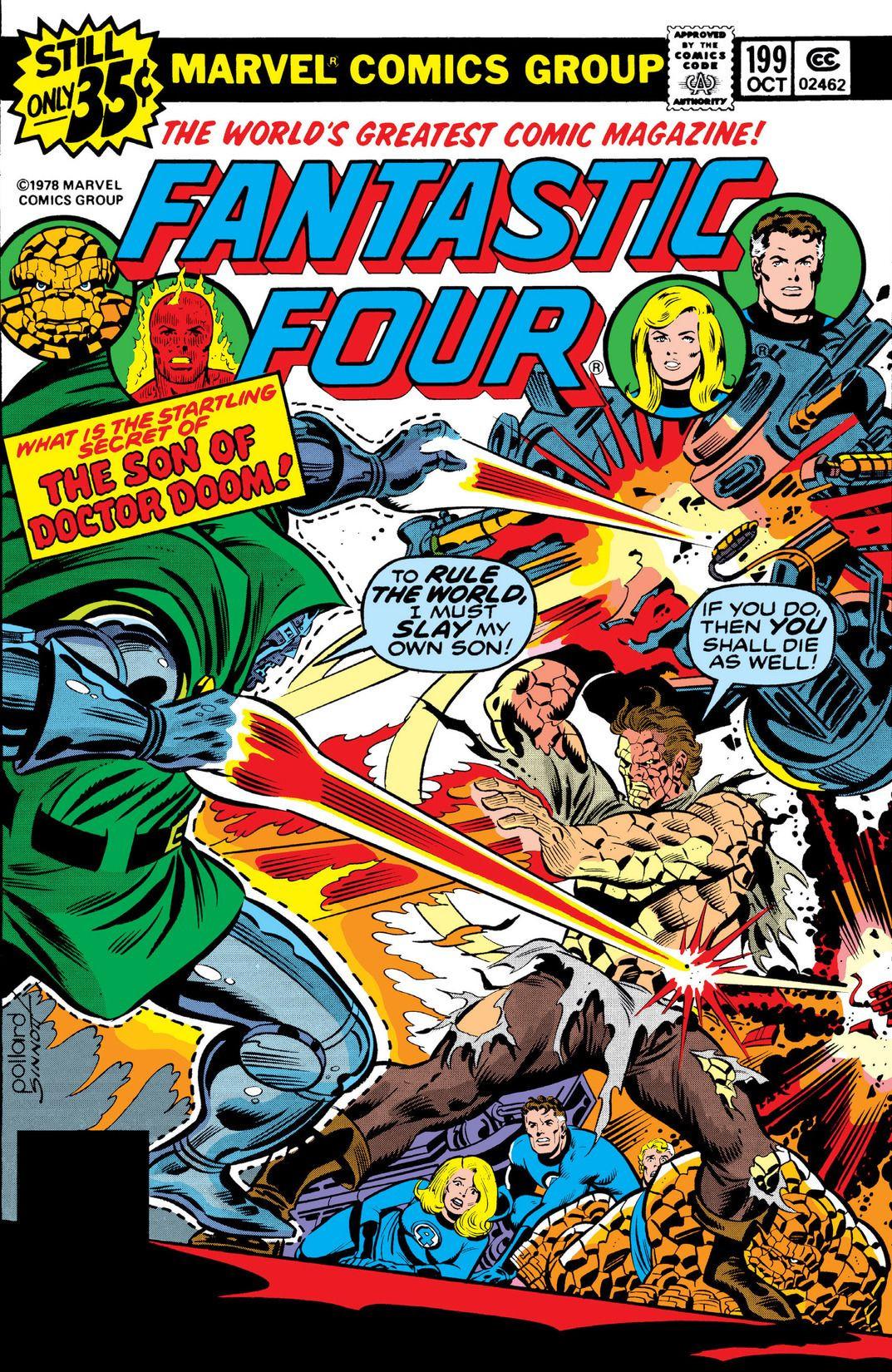Fantastic Four Vol 1 199 Marvel Database Fandom