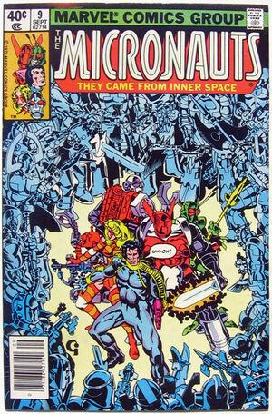 Micronauts Vol 1 9