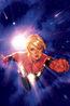 Captain Marvel Vol 9 1 Hughes Variant Textless