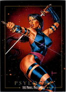 Elizabeth Braddock (Earth-616) from Marvel Masterpieces Trading Cards 1992 0001