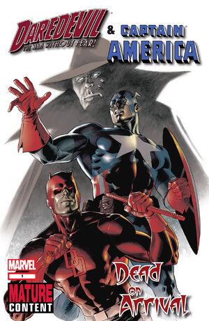 Daredevil & Captain America Dead on Arrival Vol 1 1
