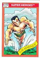 Namor McKenzie (Earth-616) from Marvel Universe Cards Series I 0001