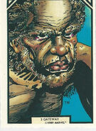 Gateway (Earth-616) from Arthur Adams Trading Card Set 0001