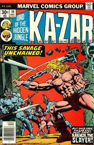 Ka-Zar Vol 2 19
