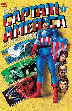 Adventures of Captain America Vol 1 1
