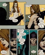 Elizabeth Ross (Earth-1610) James Howlett (Earth-1610) Ultimate Wolverine vs. Hulk Vol 1 6 01