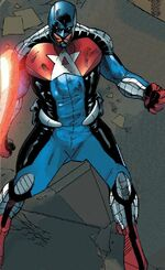 Kiyoshi Morales (Earth-11831) from Captain America Corps Vol 1 2 002