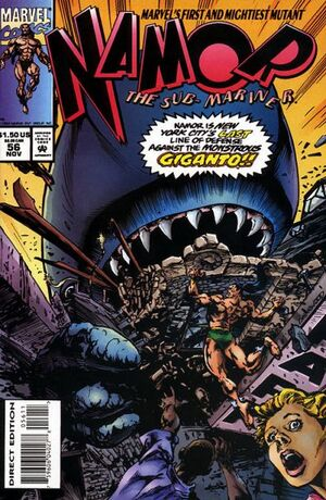 Namor the Sub-Mariner Vol 1 56