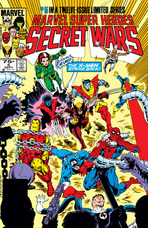 Marvel Super Heroes Secret Wars Vol 1 5