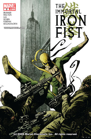 Immortal Iron Fist Vol 1 2
