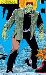 Frankenstein's Monster (Battleworld) (Earth-616) from Fantastic Four Vol 1 274