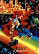 Thor Odinson (Earth-616) from Marvel Masterpieces Trading Cards 1992 0001