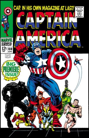 Captain America Vol 1 100