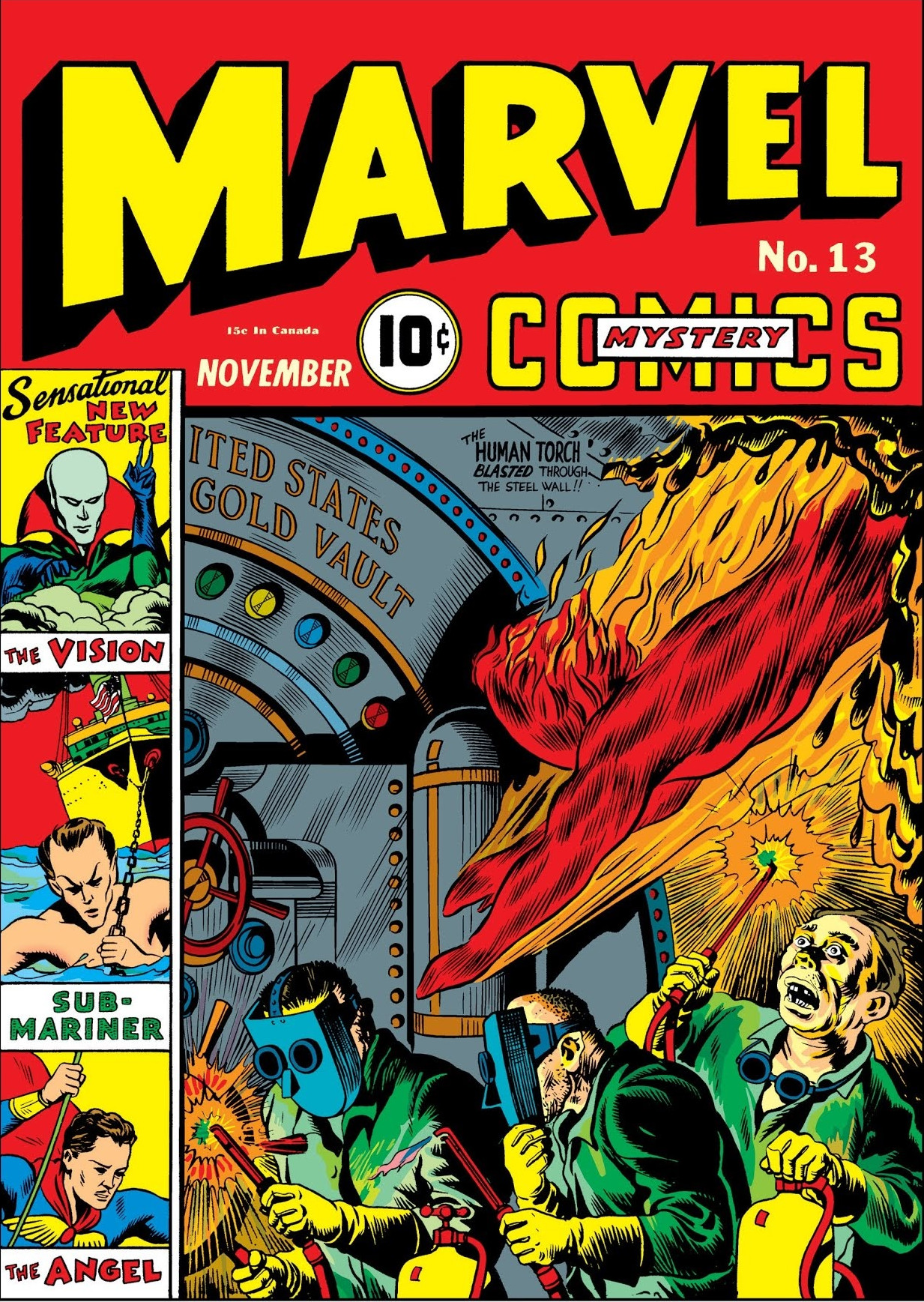 """Résultat de recherche d'images pour """"Marvel Mystery Comics 13"""""""