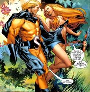 Robert Reynolds & Venus (Siren) (Earth-616) from Agents of Atlas Vol 2 1 0001
