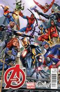 Avengers Vol 5 1 Hastings Variant