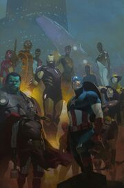 Avengers Vol 5 24.NOW Textless