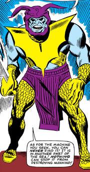 Attuma (Earth-616) second armor from Avengers Vol 1 26