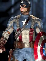 Captain America's second uniform