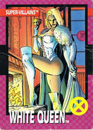 Emma Frost (Earth-616) from 1992 Impel X-Men (Trading Cards)