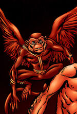 Red Raven (Earth-8101) from Marvel Apes Vol 1 2 0001