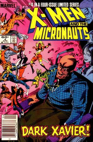 X-Men and the Micronauts Vol 1 4