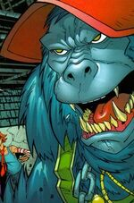 Ape (Morlock) (Earth-50302) from Marvel Age Spider-Man Team-Up Vol 1 3 0001