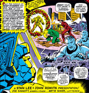 Mister Fantastic tries to cure the Thing from Fantastic Four Vol 1 106