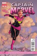 Captain Marvel Vol 7 5 Komen Variant