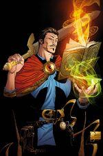 Doctor Strange Vol 4 1 Quesada Variant Textless