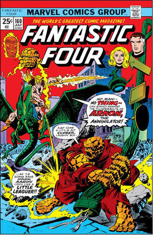Fantastic Four Vol 1 160