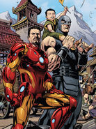 Anthony Stark (Earth-616) and Lei-Kung (Earth-616) from AvX Consequences Vol 1 3 001