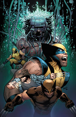 Death of Wolverine Vol 1 4 Land Variant Textless