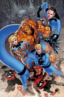 Fantastic Four Vol 5 13 Textless