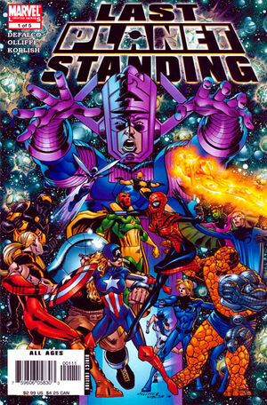 Last Planet Standing Vol 1 1