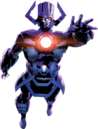 Galactus (Earth-616) merged with Gah Lak Tus (Earth-1610) from Hunger Vol 1 2 001
