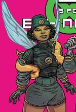 Angel Salvadore (Earth-55133) from E Is For Extinction Vol 1 2 Villalobos Variant