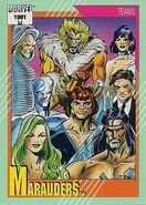 Marauders (Earth-616) from Marvel Universe Cards Series II 0001