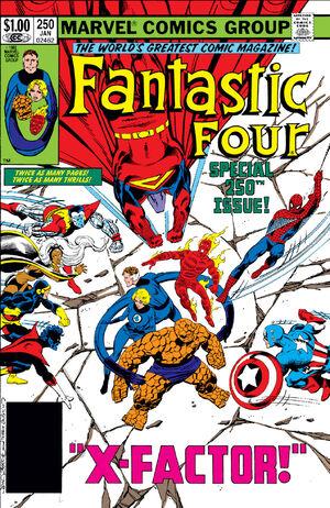 Fantastic Four Vol 1 250