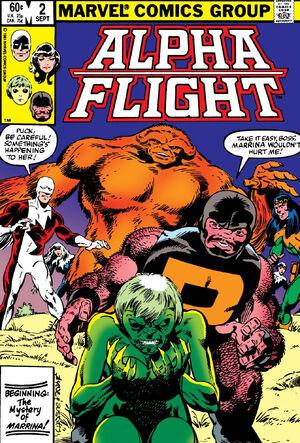 Alpha Flight Vol 1 2