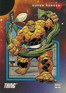 Benjamin Grimm (Earth-616) from Marvel Universe Cards Series III 0001