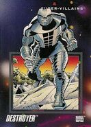 Destroyer (Enchanted Armor) (Earth-616) from Marvel Universe Cards Series III 0001