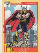 Thor Odinson (Earth-616) from Marvel Universe Cards Series II 0001