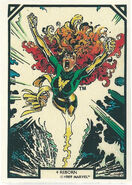 Phoenix Force (Earth-616) from Arthur Adams Trading Card Set 0002