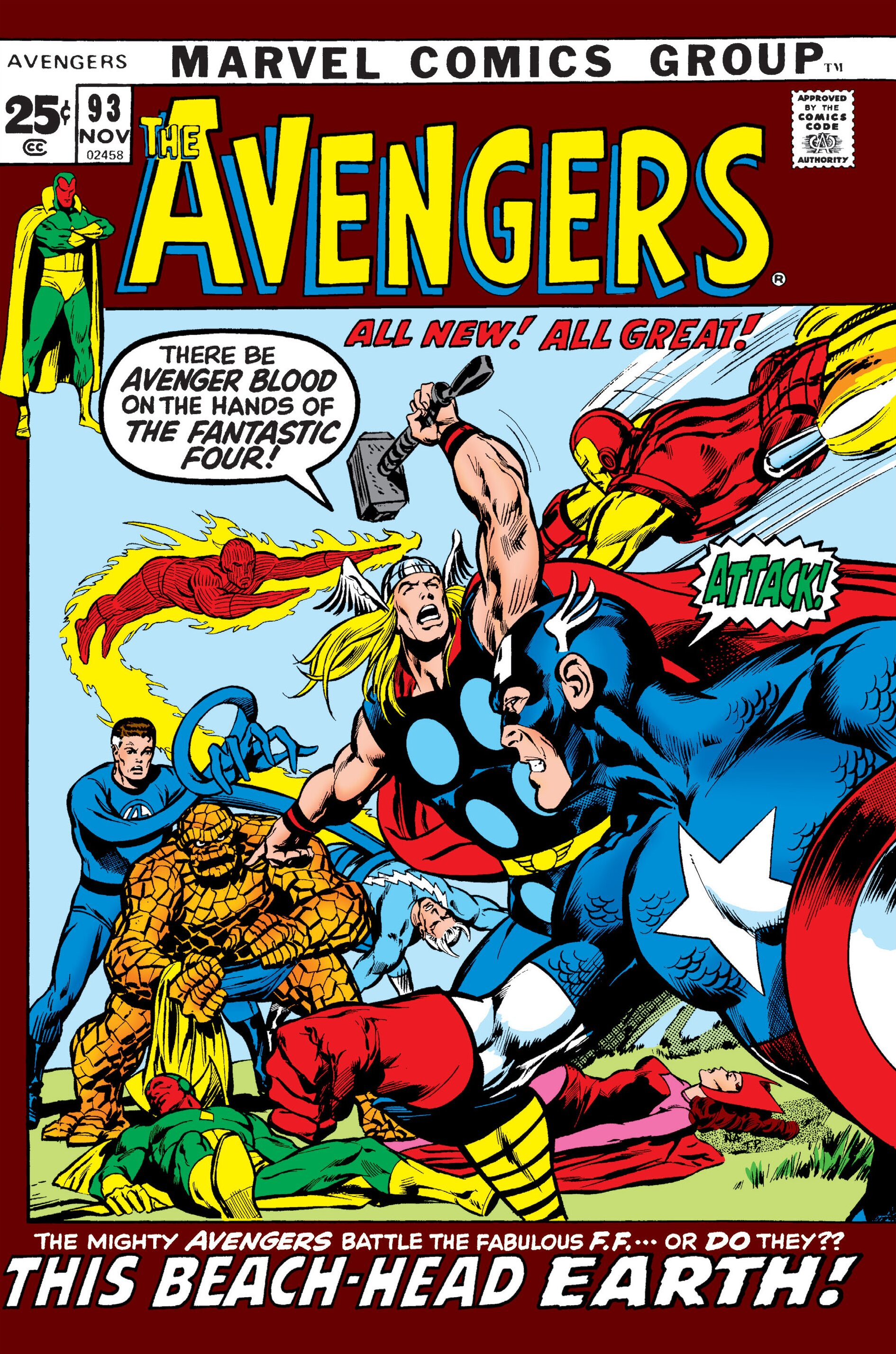 Comic Book Cover Art Sale : Avengers vol marvel database fandom powered by wikia