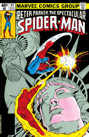 Peter Parker, The Spectacular Spider-Man Vol 1 42